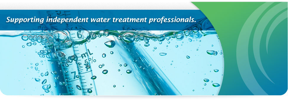 Supporting independent water treatment professionals.