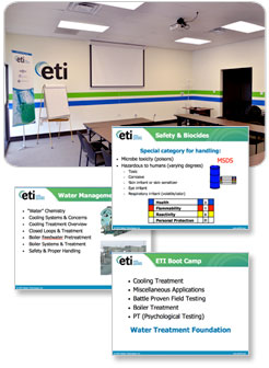 ETI provides both advanced and introductory level training classes